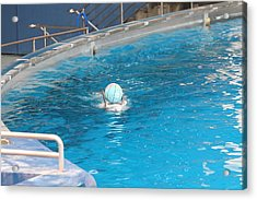 Dolphin Show - National Aquarium In Baltimore Md - 121236 Acrylic Print by DC Photographer