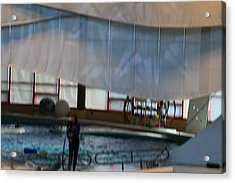 Dolphin Show - National Aquarium In Baltimore Md - 121272 Acrylic Print by DC Photographer