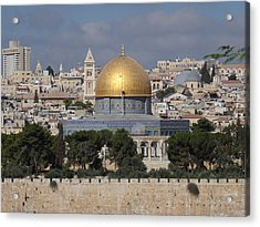 Dome On The Rock  Acrylic Print