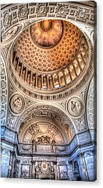 Domed Ornate Interior Acrylic Print