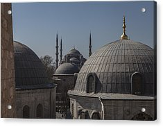 Domes And Minarets Acrylic Print by Adriano Ficarelli