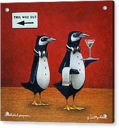 Domesticated Penguins... Acrylic Print