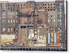 Domino Sugar Building Acrylic Print