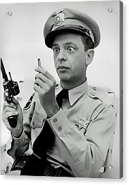 Barney Fife - Don Knotts Acrylic Print by Mountain Dreams