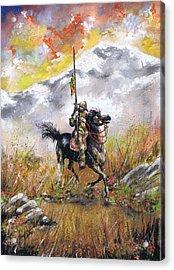 Don Quixote Of La Mancha Acrylic Print