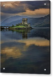 Donan Castle Reflection Acrylic Print