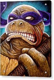 Donatello Unleashed Acrylic Print