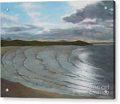 Donegal's Shimmering Sea Acrylic Print