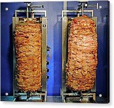 Doner Kebabs Acrylic Print