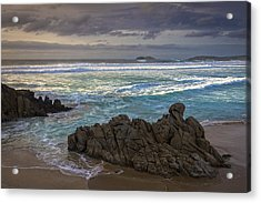 Acrylic Print featuring the photograph Doninos Beach Ferrol Galicia Spain by Pablo Avanzini