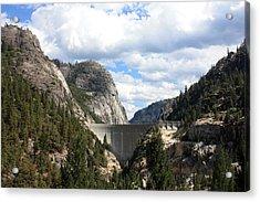 Donnell Lake Dam Acrylic Print