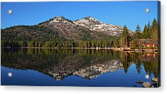 Donner Lake Reflection Acrylic Print