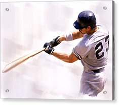 Donnie Ballgame Don Mattingly  Acrylic Print