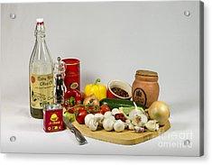 Don's Chilli Con Carne Acrylic Print by Donald Davis