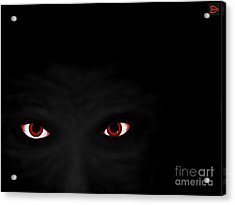 Acrylic Print featuring the digital art Don't Be Afraid Of The Dark by Andy Heavens