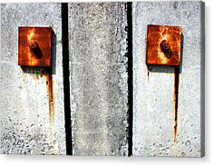 Don't Cry For Me Industrial Decay Series No 006 Acrylic Print