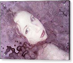 Don't Disturb Me Acrylic Print by Gun Legler