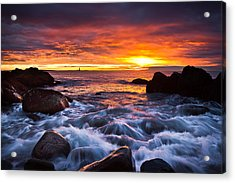 Don't Forget Acrylic Print by Benjamin Williamson
