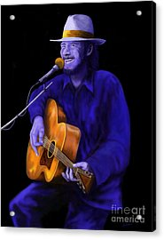 Don't Try To Lay No Boogie Woogie On The King Of Rock And Roll Acrylic Print by Steve Knapp