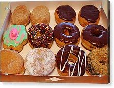 Donuts Acrylic Print