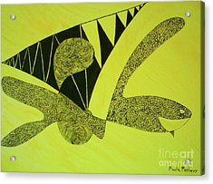 Doodlewat3 Acrylic Print