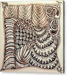 Doodling Fun Acrylic Print
