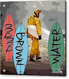Doodoo Poster Acrylic Print