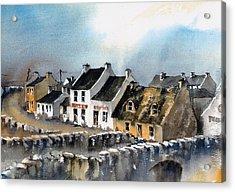 Clare Doolin Village  Acrylic Print