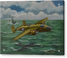 Acrylic Print featuring the painting Doolittle Raider 2 by Murray McLeod