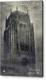 Doomed Castle Acrylic Print by Svetlana Sewell
