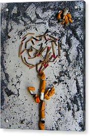 Doomed Love By Darryl Kravitz Acrylic Print by Darryl  Kravitz