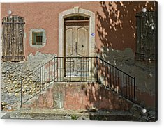 Door And Shadow Acrylic Print