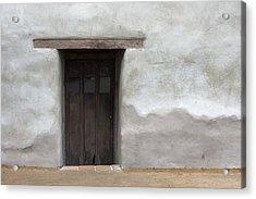 Door-c Acrylic Print by Joey  Maganini