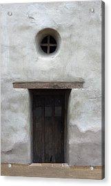 Door-cc Acrylic Print by Joey  Maganini