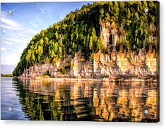 Door County Ellison Bay Bluff Acrylic Print