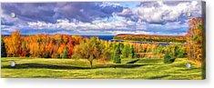 Door County Grand View Scenic Overlook Panorama Acrylic Print