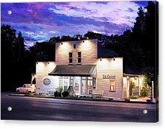 Door County Ice Cream Factory Acrylic Print by Christopher Arndt
