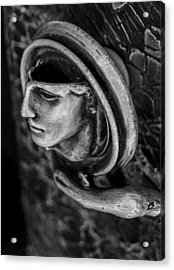 Door Handle Acrylic Print by Arkady Kunysz