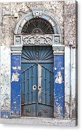Door In Aleppo Syria Acrylic Print