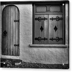 Door In Alley Acrylic Print