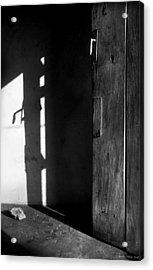 Door In Silhouette  Acrylic Print