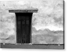 Door Acrylic Print by Joey  Maganini