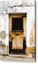 Door No 48 Acrylic Print by Marco Oliveira
