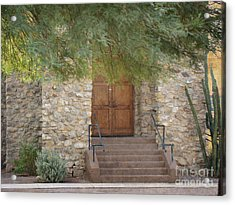 Door Of Hope Acrylic Print by Beverly Guilliams