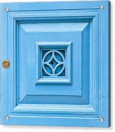 Door Panel Acrylic Print