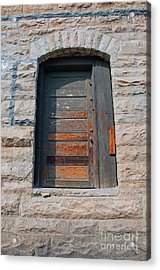 Door Series 2 Acrylic Print by Minnie Lippiatt