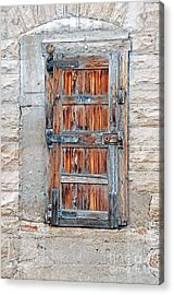 Door Series Acrylic Print by Minnie Lippiatt