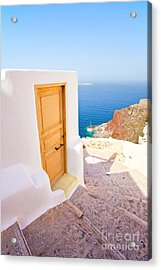 Door Suddenly Acrylic Print