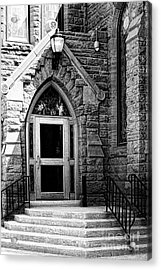 Door To Sanctuary Series Image 3 Of 4 Acrylic Print by Lawrence Burry