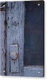 Door To The Past Acrylic Print by Randy Pollard